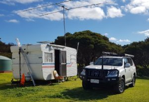 This is our Caravan that we will be deploying on the day.